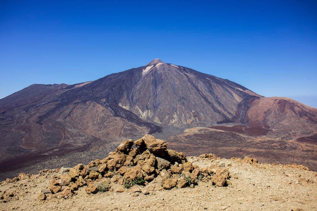 El Teide desde Montaña Guajara