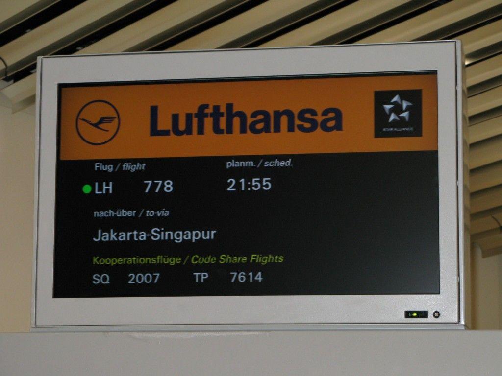 De Business Class Lufthansa