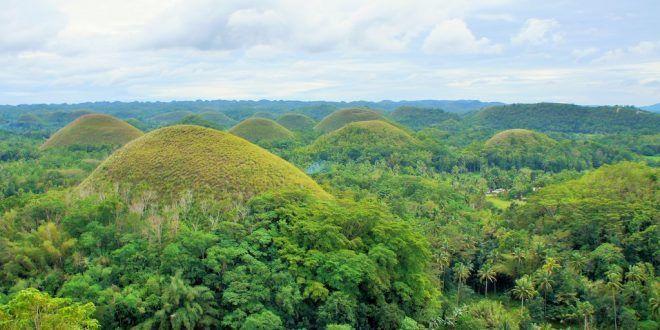 Las Chocolate Hills en Bohol