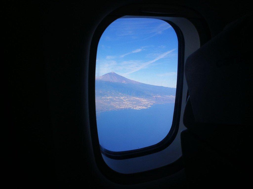 Avión de Tenerife a La Palma