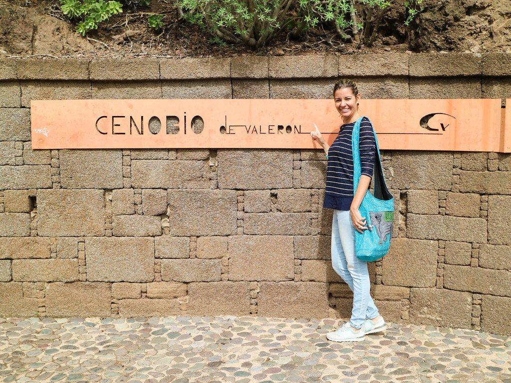 Entrada al Cenobio de Valerón