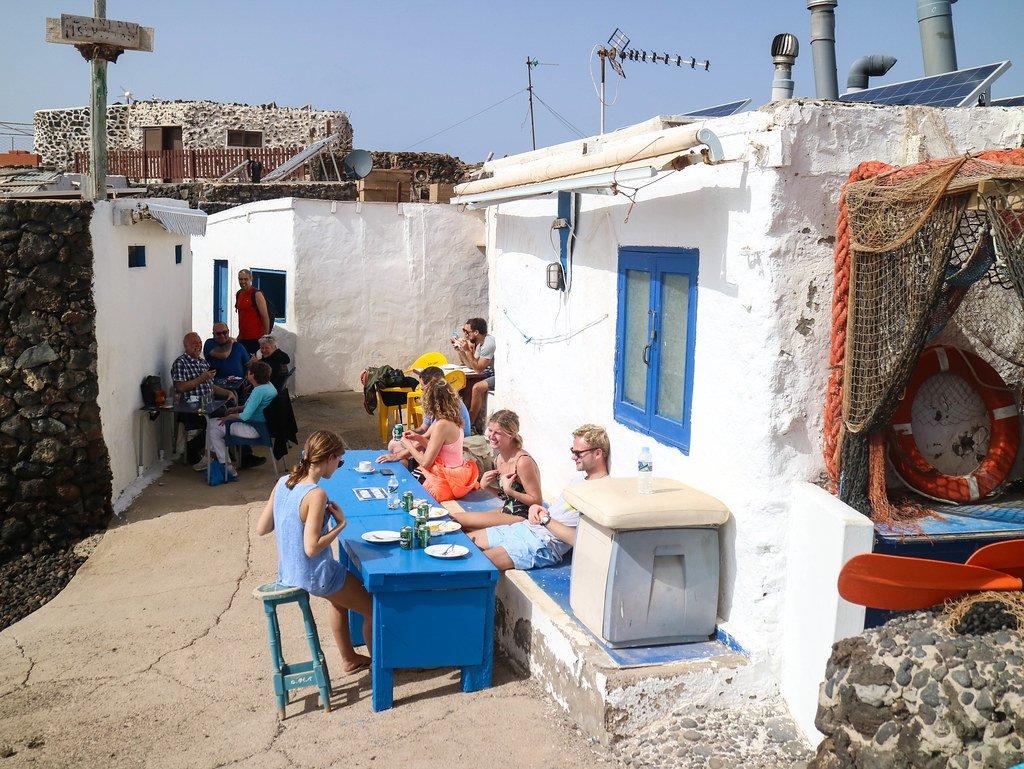 Lo mejor de Fuerteventura es tambien conocer el pueblo de Lobos