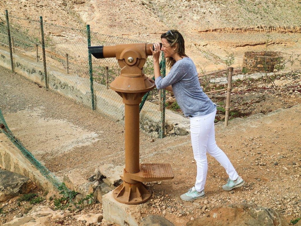 Visita a la presa de Fuerteventura