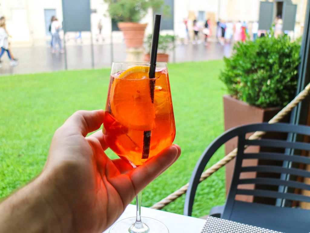 Spritz, el mejor aperitivo en Italia