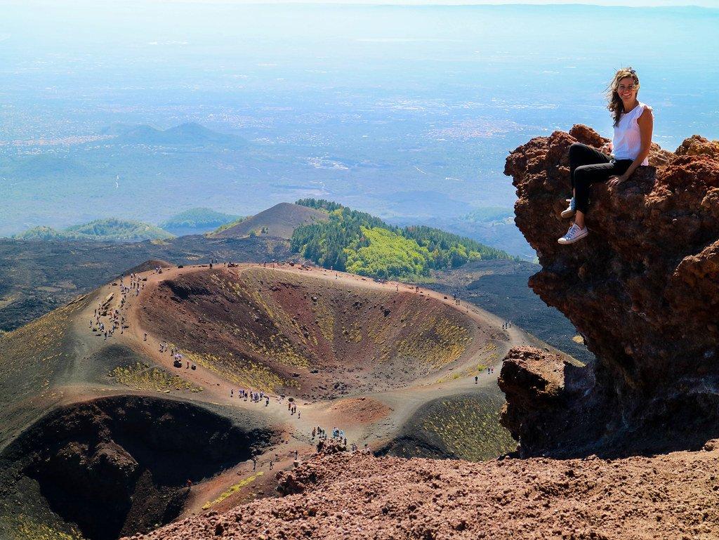 Subir al volcan Etna durante un viaje a Sicilia en 2 semanas