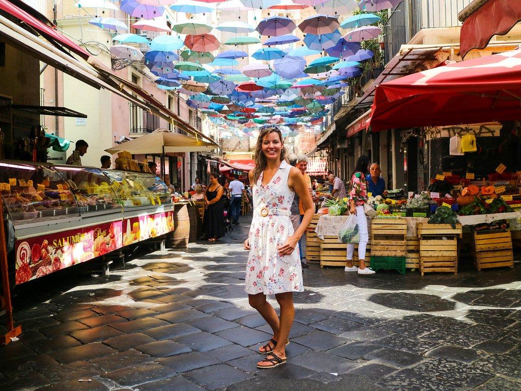 Mercado del Pescado en Catania