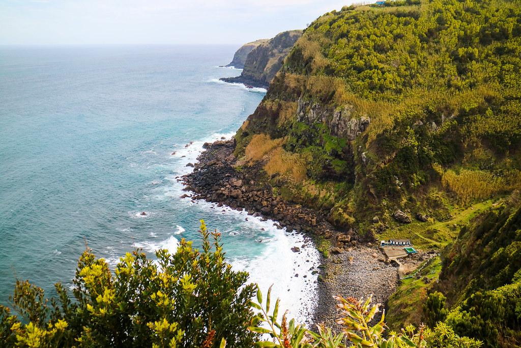 Miradouro Pedra dos Estorninhos en Azores