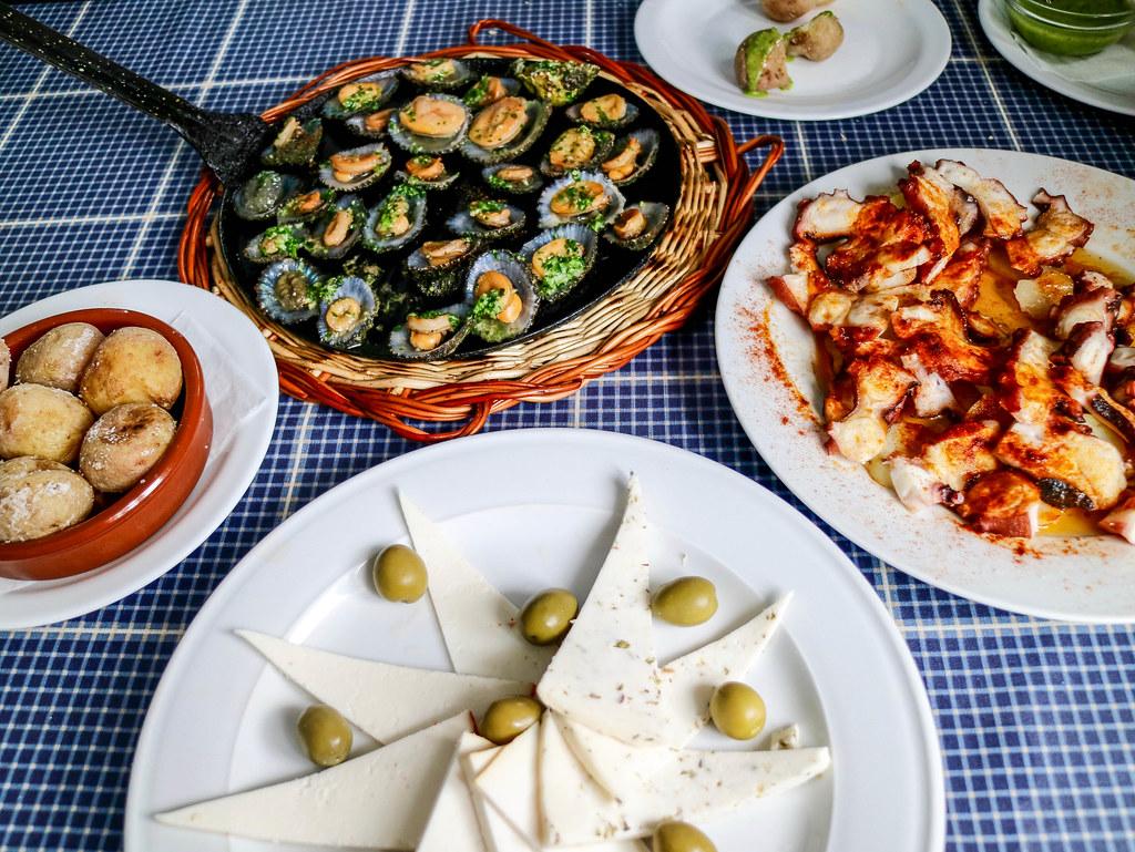 Entrantes típicos de la cocina canaria