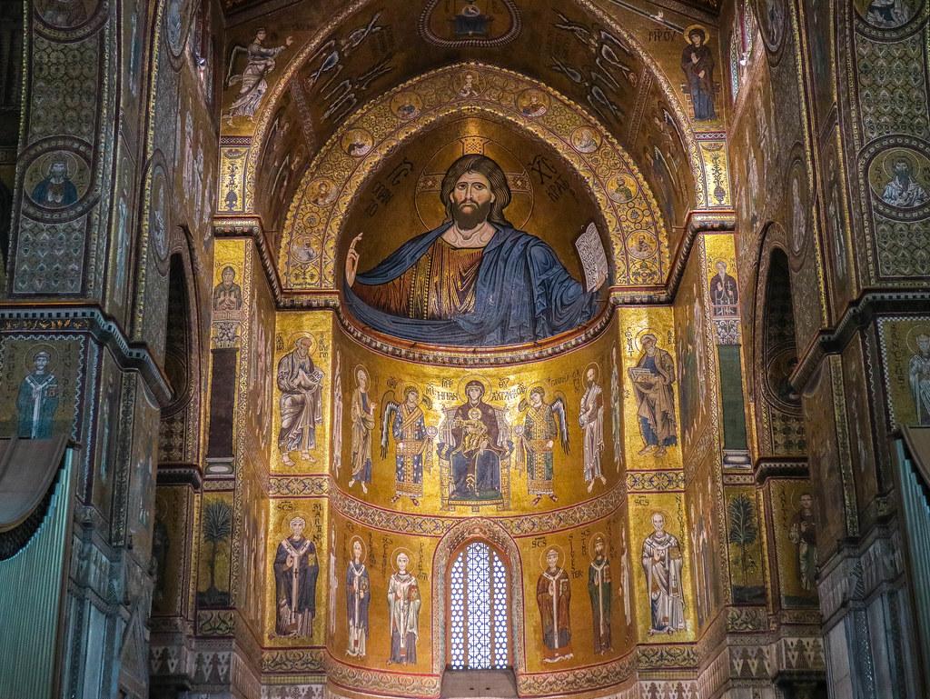 Pantocrator de la Catedral de Monreale