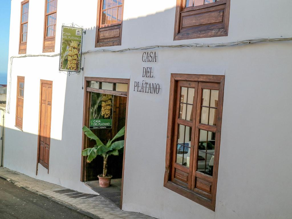 Casa del Plátano en Icod de los Vinos en Tenerife