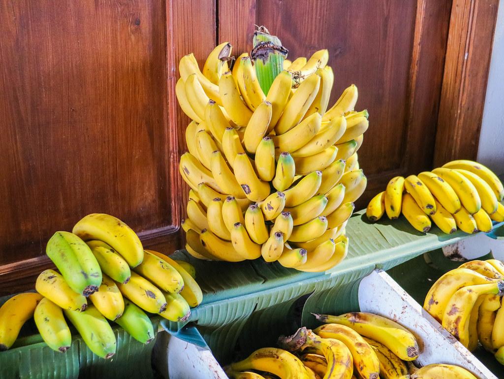 Racimo de plátano de Canarias