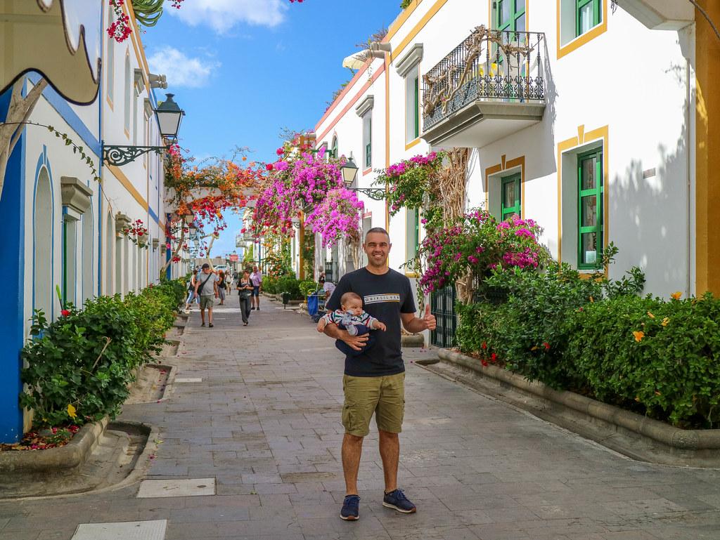 Calles del Puerto de Mogán
