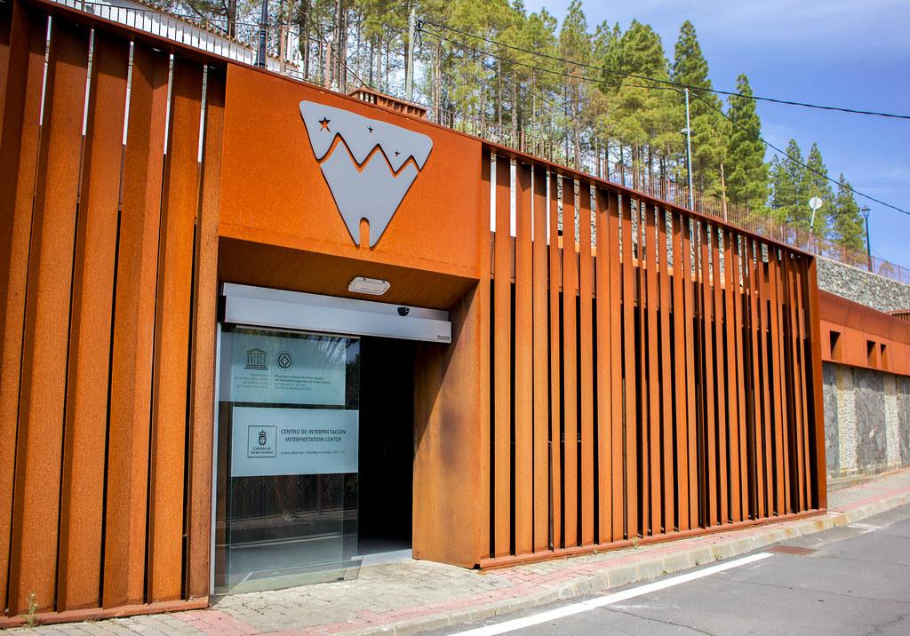 El centro de interpretacion de Risco Caido es uno de los lugares que ver en Artenara