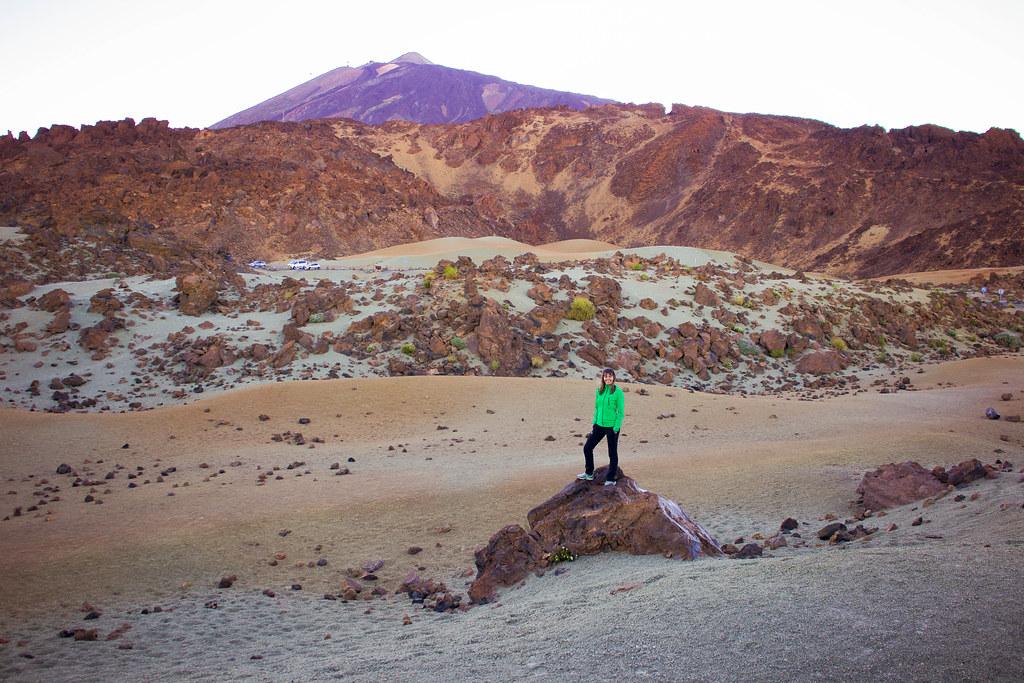 Minas de San José es uno de los miradores del Parque Nacional del Teide