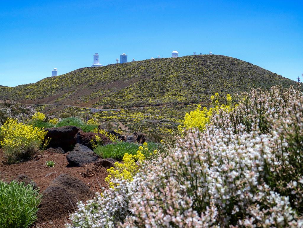 Vista del OT desde uno de los miradores del Parque Nacional del Teide