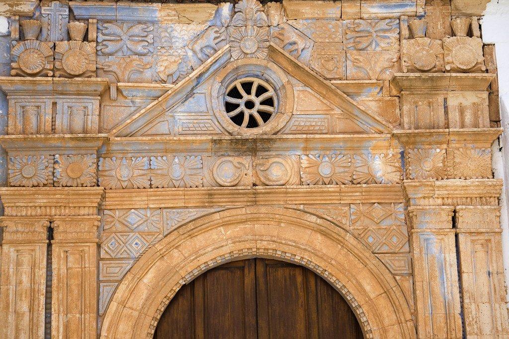 Fachada de la iglesia de Nuestra Señora de Regla en Pájara
