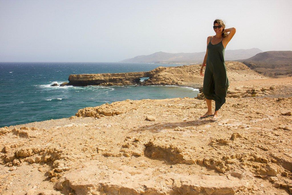 Punta de Guadalupe en La Pared en la isla de Fuerteventura