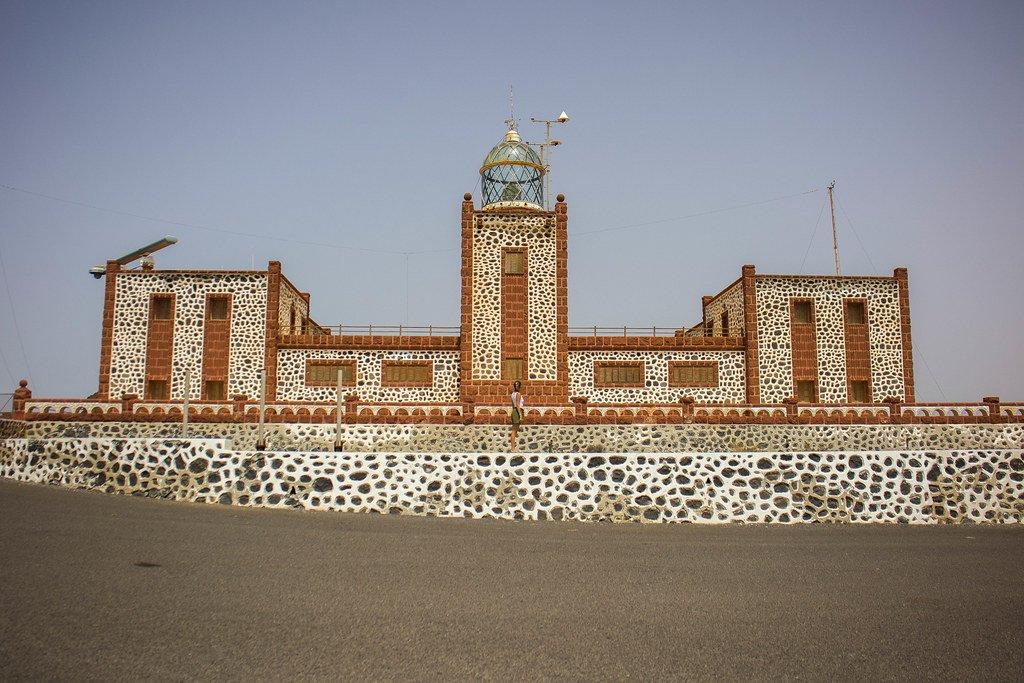 Faro de la Entallada en la isla de Fuerteventura