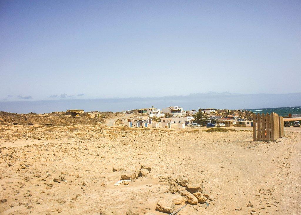 Pueblo de Majanicho en Fuerteventura