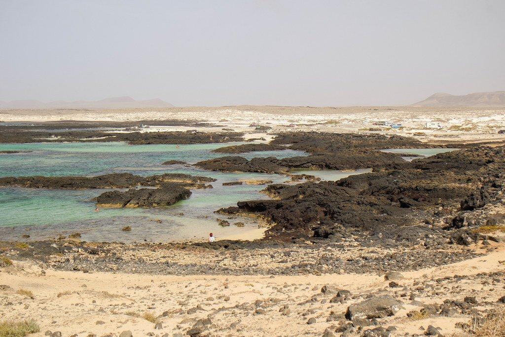 Playa de Los Charcos en El Cotillo
