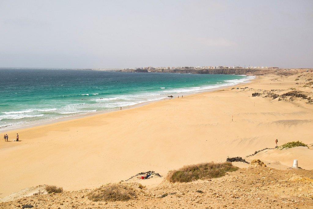 Playa del Castillo en Fuerteventura