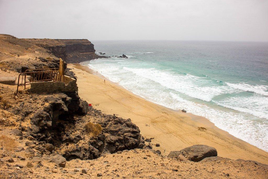 Playa del Aguila en El Cotillo