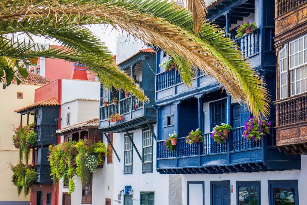 Avenida Marítima en La Palma