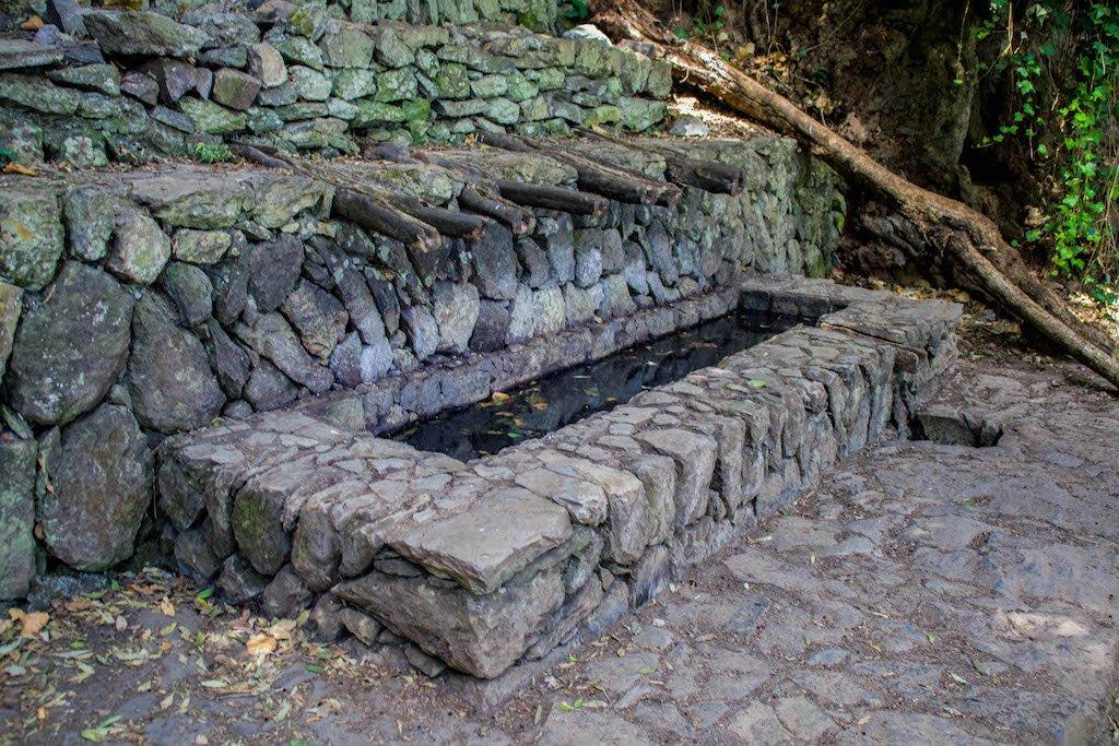 Los Chorros de Epina en La Gomera