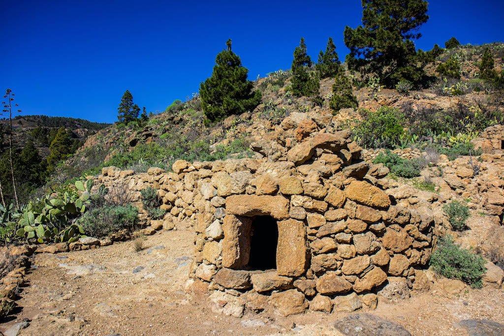 Horno de piedra en Tenerife